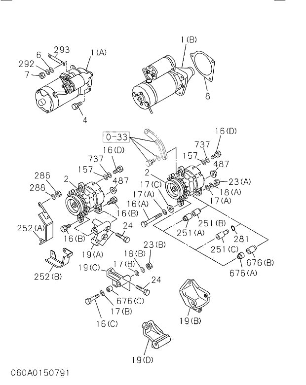060 Engine Electrical Control Parts